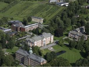 Dronebilde campus Ås tidligere