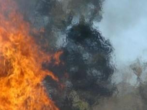Flammer og vann