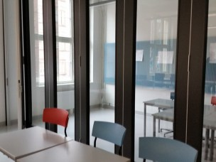 Nye videregående skoler bygges i sentrum og består av mye glass