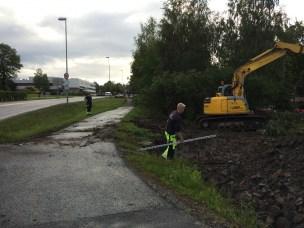 Rehabilitering av vannledning ved Meierikrysset