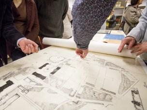 Arkivet inneholder blant annet professorarkiver, plantegninger og elevarbeider fra de siste 100 årene i norsk landskapsarkitektur.