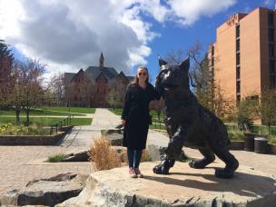 Ragnhild ved Montana State University