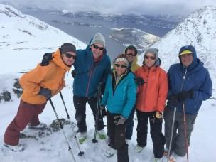 Topptur i Noreg og i Alpane er to forskjellige ting, skriv sveitsiske Dominik Siegrist i sitt blogginnlegg.