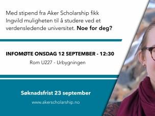 Aker Scholarship
