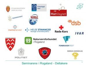 Deltakere på seminarene i Rogaland