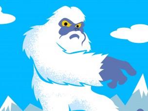 Avkler den avskyelige snømannen
