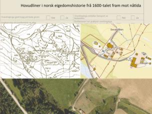 Eigedomshistorie. Hovudliner i norsk eigedomshistorie frå 1600-talet fram mot nåtida