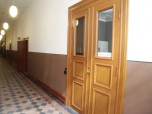 I Urbygningens andre etasje nærmest Tårnbygnigen ligger fellesareal for studenter med tekjøkken og sittegrupper.