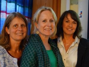 Bildet viser sentrale personer i den nye samarbeidet mellom Politihøgskolen og NMBU. Fra venstre Karianne Muri, Marit Nesje, Randi Oppermann Moe (alle Forskergruppe Dyrevelferd ved NMBU Veterinærhøgskolen), Ellen Hestenes (Mattilsynet), og Henny Irene Bech (Politihøgskolen).