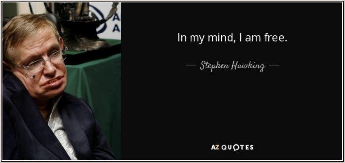 Steven Hawking quote