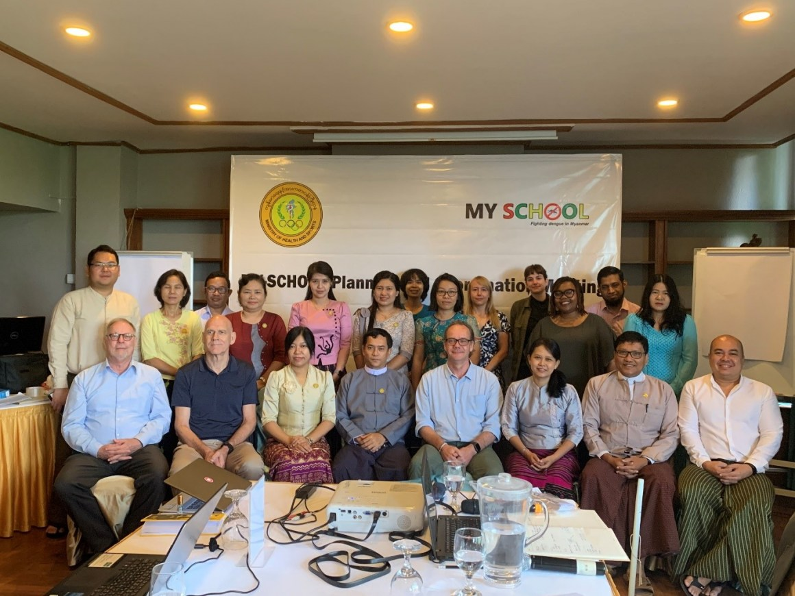 MY-SCHOOL partner meeting Yangon, Myanmar October 2019.
