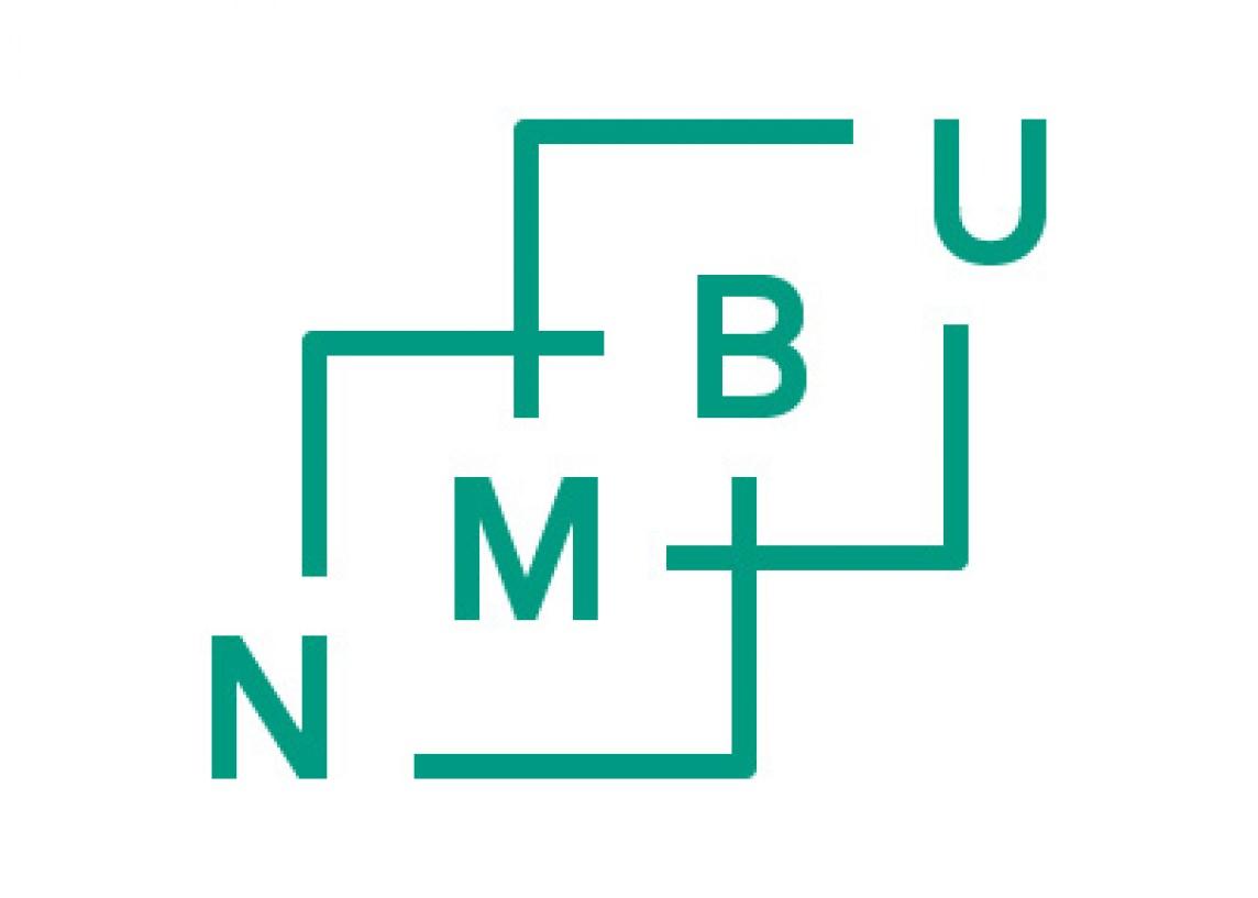 Logo NMBU grønn mot hvit bakgrunn