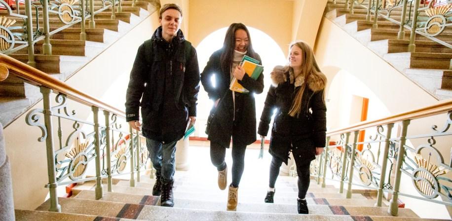 Lese- og arbeidsplasser for studenter ved LANDSAM