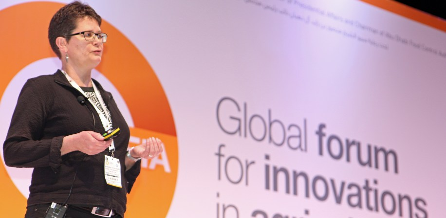 Professor Margareth Øverland was invited to speak at the GFIA Conference in Abu Dhabi.
