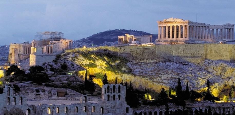 Akropolis, Athen.