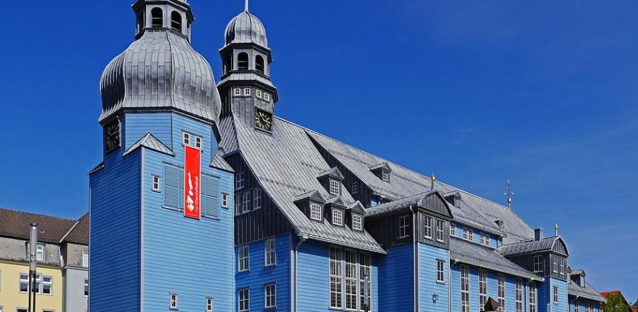 Clausthal-Zellerfeld i Tyskland.