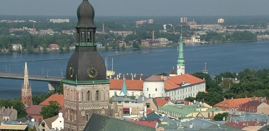Gamlebyen i Riga, hovedstaden i Latvia.