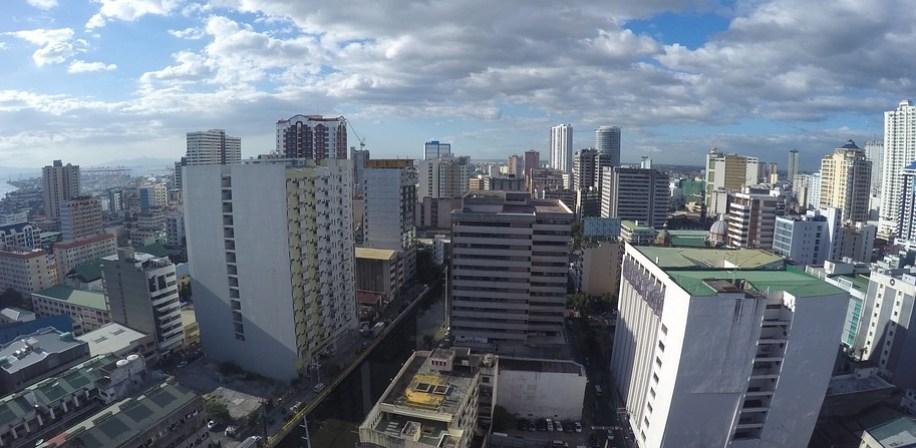 Manila, hovedstaden i Filippinene.