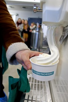 The researchers produced 300 litres of ice cream from the yeast-milk. Taste and protein content are among the parameters measured when the products are analysed.