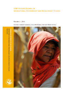 Journal Volume 1 Cover