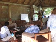 Workshop at Timbavati, South Africa